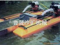 便于携带的微型淘金船、小河道作业的小型淘金船